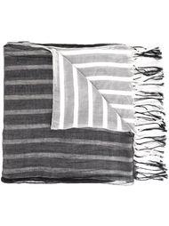 шарф с бахромой Yohji Yamamoto