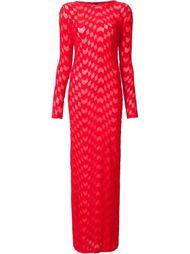 фактурное платье  Gareth Pugh