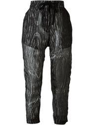 брюки с принтом 'Edison host'  Ann Demeulemeester