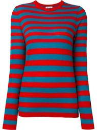 свитер в полоску Bella Freud