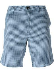 шорты-чинос в клетку Paul Smith Jeans