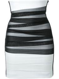 юбка с завышенной талией David Koma