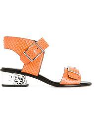 сандалии с блестящим каблуком McQ Alexander McQueen