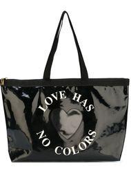 сумка-тоут с заплаткой в виде сердца Moschino Vintage