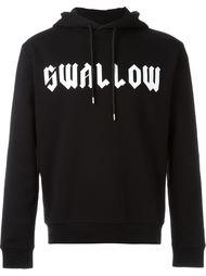 толстовка с капюшоном 'Swallow' McQ Alexander McQueen