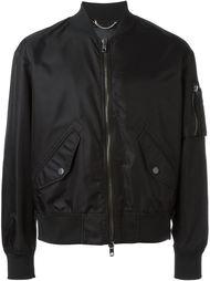 куртка-бомбер с принтом  Diesel Black Gold