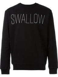 толстовка с принтом 'Swallow' McQ Alexander McQueen