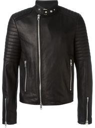 байкерская куртка с принтом  Diesel Black Gold