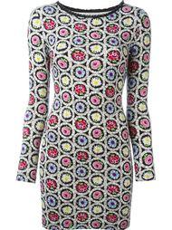 платье с цветочным принтом Moschino Vintage