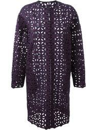ажурное пальто  MSGM