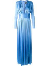 вечернее платье c V-образным вырезом  Fausto Puglisi