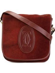 сумка на плечо с логотипом 'CC' Cartier Vintage