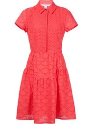 платье-рубашка с вышивкой  Diane Von Furstenberg