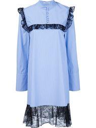 платье с отделкой из рюшей J.W.Anderson