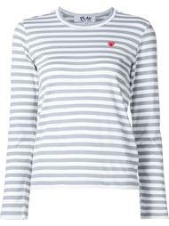 футболка в полоску 'Colour Series' Comme Des Garçons Play