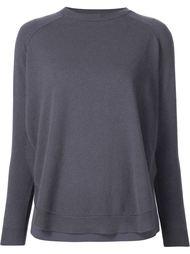 свитер с закругленным подолом Brunello Cucinelli