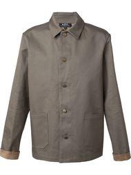 легкая куртка на пуговицах A.P.C.