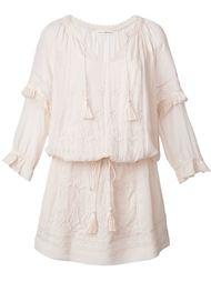 платье с цветочной вышивкой  Ulla Johnson