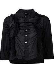 рубашка с рюшами Comme Des Garçons Tricot