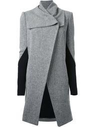 открытое структурированное пальто Kitx