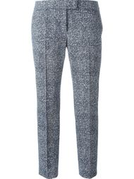 эластичные укороченные брюки Akris