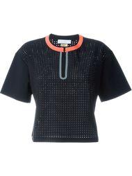 перфорированная футболка мешковатого кроя Monreal London