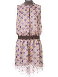 платье с принтом без рукавов  Kolor