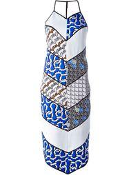 платье миди с диагональным принтом Kenzo
