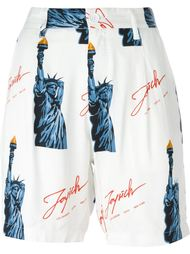 шорты с принтом 'Statue of Liberty' Joyrich