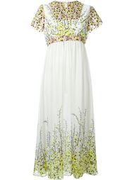 платье с цветочным принтом   Giambattista Valli