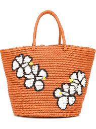 сумка-тоут с цветочным принтом   Sensi Studio