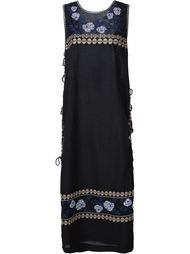 embroidered tunic dress Suno
