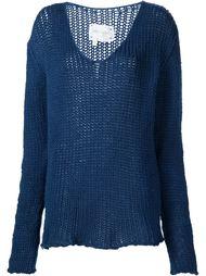 свитер с V-образным вырезом 'Fisherman' Greg Lauren