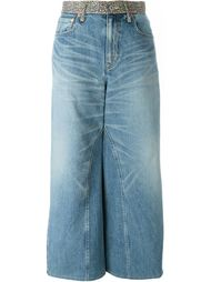 джинсовая юбка макси Junya Watanabe Comme Des Garçons