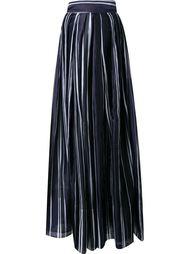 плиссированные широкие брюки  Martin Grant