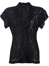 пиджак с короткими рукавами Yohji Yamamoto