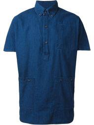 джинсовая рубашка  Bleu De Paname
