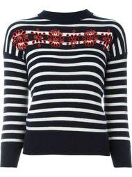 свитер в полоску Alexander McQueen
