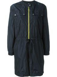 мини-платье с контрастной молнией Jil Sander Navy