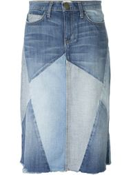 джинсовая юбка  Current/Elliott