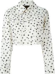 пиджак с принтом роз Comme Des Garçons Vintage