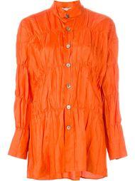 рубашка с присборенной отделкой Issey Miyake Vintage