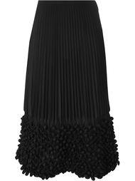 плиссированная юбка с пузырчатой отделкой Issey Miyake Vintage