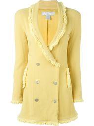 двубортный пиджак Christian Dior Vintage