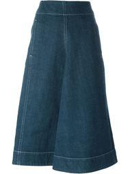 джинсовая юбка с карманом  Lemaire