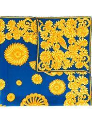"""платок с принтом в стиле """"барокко"""" Lanvin Vintage"""
