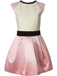 расклешённое платье с рукавами-кап Fausto Puglisi