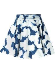 расклешенная юбка с принтом тай-дай Fausto Puglisi