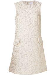 платье с жаккардовым цветочным узором Co