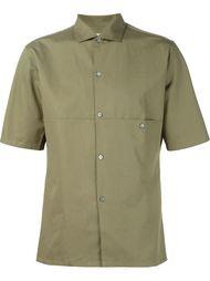 рубашка с панельным дизайном  Lemaire